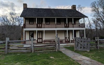 National Park Service: Pea Ridge National Military Park, Rehabilitation of the Elkhorn Tavern